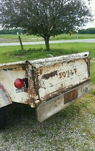 Vintage Dodge Pickup Truck Bed Power Wagon Rat Rod Parts Project Mopar
