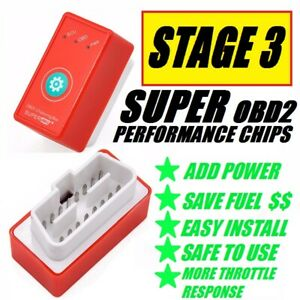 Fits Chevy Silverado 3500 6 0l 6 2l 8 1l Obd2 Super Performance Chip Add Power