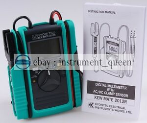 Kyoritsu 2012r Ac dc Multimeter With Dc Amps Kew Mate 2012r new