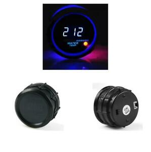 12v 2inch 52mm Abs Car Auto Digital Blue Led Water Temp Temperature Gauge Kit