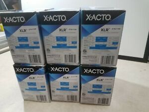 Lot Of 6 New X acto Xlr Office Electric Pencil Sharpener Charcoal Black
