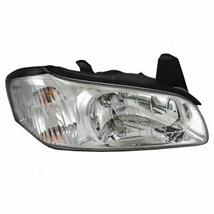 Fit For 2000 2001 Ns Maxima Headlight Right Chrome 26010 2y926