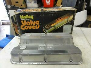 Vintage Nos Mickey Thompson Small Block Ford Valve Covers Holley 289 302 351 Sbf