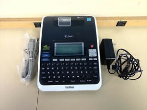 Brother Pt 2730 P touch Pc connectable Labeling System Uses Tz Tape