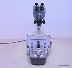 Dupont Sorvall Mt2 b Mt2b Ultra Microtome With Microscope