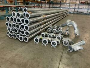 Zimmatic Style Pivot Pipe And Joints Lot Center Pivot Irrigation Sprinkler