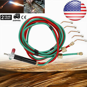 Micro gas Torch Mini Gas Little Torch Welding Soldering Kit With 5 Tips 6000 Us