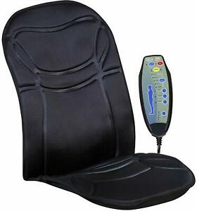 6 Motor Massage Car Seat Cushion Back Relief Chair Pad Heated Lumbar Massager