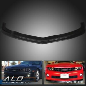 Front Bumper Lip Spoiler Pu Fit For 2010 2013 Chevy Camaro Ss 2dr Zl1 Style