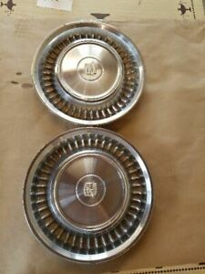1972 Cadillac Deville Wheel Covers Hub Caps Fits 71 72 Cadillac Deville