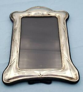 Beautiful Vintage English Sterling Silver Picture Frame 6862