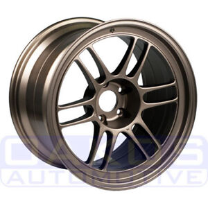 Enkei Rpf1 Wheel 18x9 35mm 5x108 Single Bronze Rim For Focus St