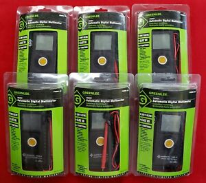 New Greenlee Pdmm20 Pocket Automatic Digital Multimeter Free Shipping