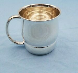 Sterling Silver Baby Cup By Towle W No Monogram 7006