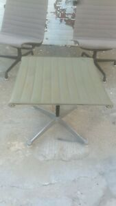 Authentic Herman Miller Eames Aluminum Group Ottoman No Outside Usa Sales