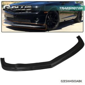 Fits For 2010 2013 Chevy Camaro Ss 2 Door Front Bumper Lip Spoiler Urethane Pu