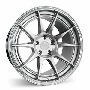 Esr Sr13 18x9 5 22 5x100 Hyper Black Concave Set Of 4