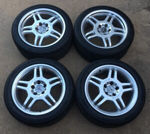 Mercedes Benz Clk Slk Amg 17 Genuine Factory Oem Wheels Rims Set