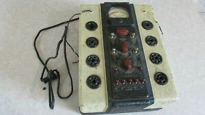 Vintage Weston Model 770 Tube Tester Checker 1930 s 1935 Electrical Instrument