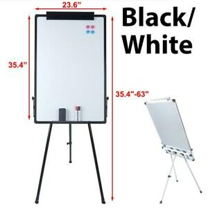 36x24 Magnetic Whiteboard Dry Erase Wipe Drawing Board Adjustabletripod Stand