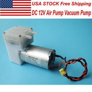 Dc 12v Aquarium Air Pump 6 16v Aspirator Vacuum Pump Diaphragm Pump Diy Massager