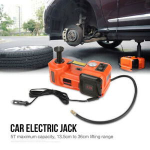 5t Car Electric Jack Car Electric Hydraulic Jack Impact Wrench Air Compressor