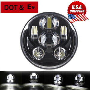 Motorcycle 5 3 4 Projector Led Headlight For Sportster 1200 Custom Xl1200 Xl883