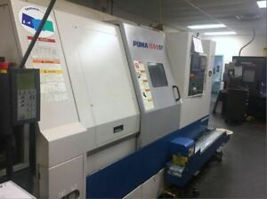 Daewoo Puma 1500sy Cnc Turning Center Live Tooling Full C Axis