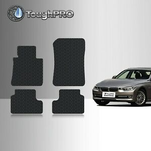 Toughpro Floor Mats Black For Bmw 3 Series All Weather 2006 2011