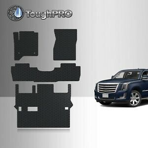 Toughpro Floor Mats 3rd Row Black For Cadillac Escalade Bench 2015 2020