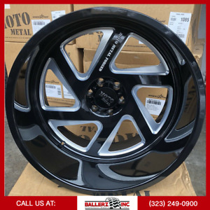 24x14 Moto Metal Forged Offroad Wheel And Tire Package 6x5 5 Forged Moto Metal
