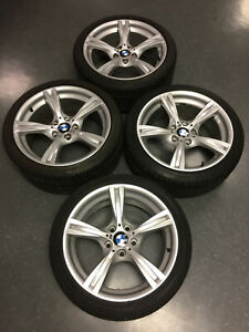 Bmw Z4 Oem 18 Alloy Wheels Style 325 With Tires And Lug Bolts