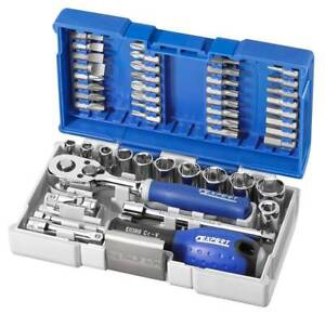 Expert By Facom 48 Piece 1 4in Drive Metric Compact Socket Bit Set E030729