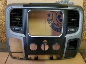2013 2014 2015 2016 Dodge Ram 1500 Radio Center Dash Bezel Trim Oem