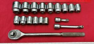 Proto Usa Professional Sockets Extensions Ratchet 3 4 Imperial 2 To 15 16