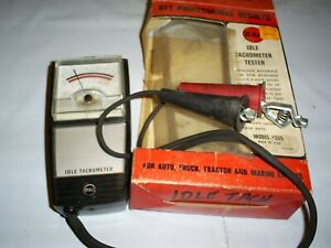 Vintage Rac Dwell Points Tach Tester Model 555 Brand New In Original Box