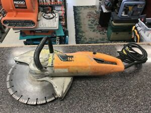Partner K3000 Corded Electric Handheld 14 Wet Cut off Concrete Saw Ships Free
