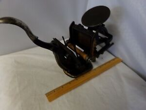 Vintage Printing Press For Calling Cards