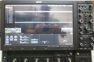 Lecroy Wavepro 735zi Oscilloscope 4 Channel 3 5ghz 40gs s Dso