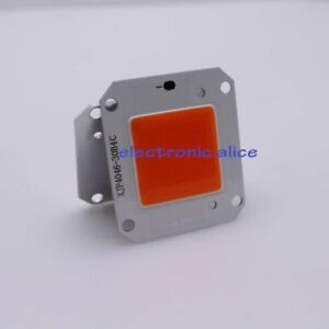 100pcs 50w Full Spectrum 380 840nm Led Cob Chip Dc12v Integrated Smart Ic Driver