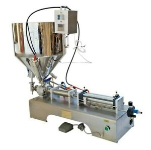 10 300ml Paste Liquid Filling Machine With Heating Function Material Packing
