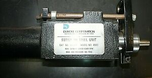 Dumore Series 90 010 Drill Unit Model 8537