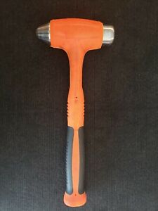 Lightly Used Snap On Hbbd32 32oz Dead Blow Ball Peen Hammer Orange