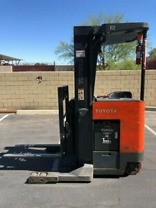Toyota Narrow Aisle Electric Forklift reach Truck