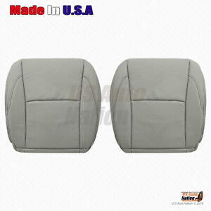 For 2010 2011 2012 Lexus Es350 Driver passenger Bottoms Leather Seat Cover Gray