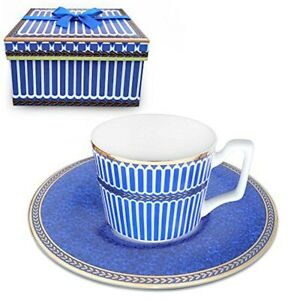 Magicpro Paris Style Classical Tea Cup And Saucer Set Bone China