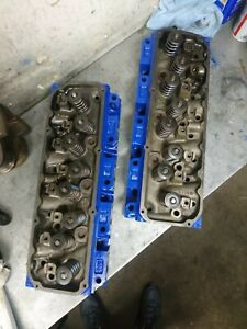 Ford 351c Cleveland Closed Chamber 4 Barrel Cylinder Heads Ready To Bolt On