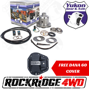 Yukon Zip Air Locker For Dana 60 W 35 Spline Axles 4 56 Up Free Diff Cover