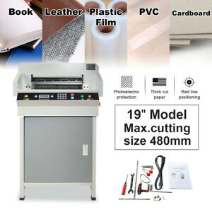 19 Cnc Electric Paper Cutter Automatic Heavy Duty 4806k Model Thick Layer Paper