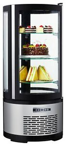 Commercial Countertop Refrigerated Cake Display 3 5 Cu Ft